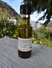 aceite con hierbas provenzales