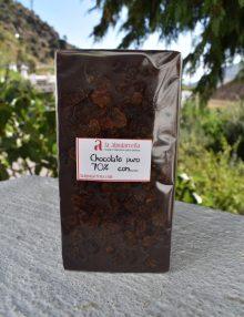 chocolate con pasas