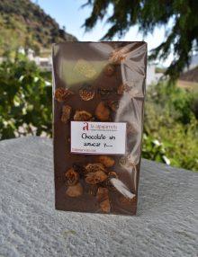 Chocolate sin azúcar añadido con higos