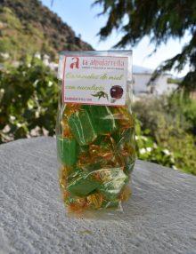 caramelos de miel con eucalipto