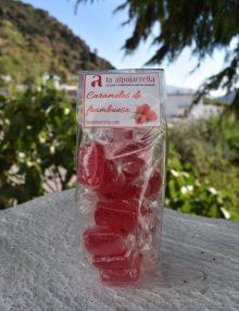 caramelos de frambuesa