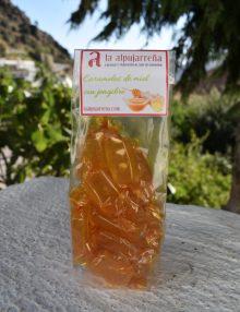 caramelos de miel con jengibre