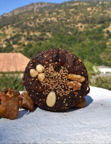 torta de higo con frutos secos