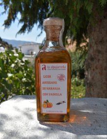 Licor de naranja con vainilla